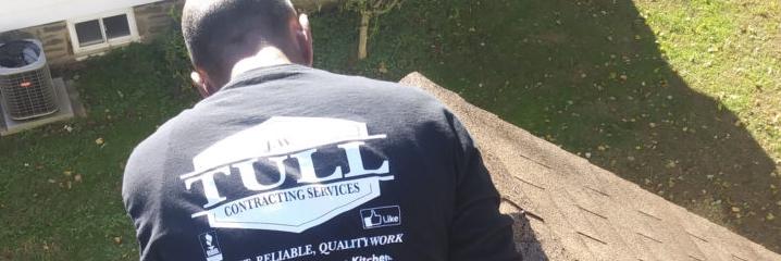 J.W. Tull team member engaging in Roof Repair